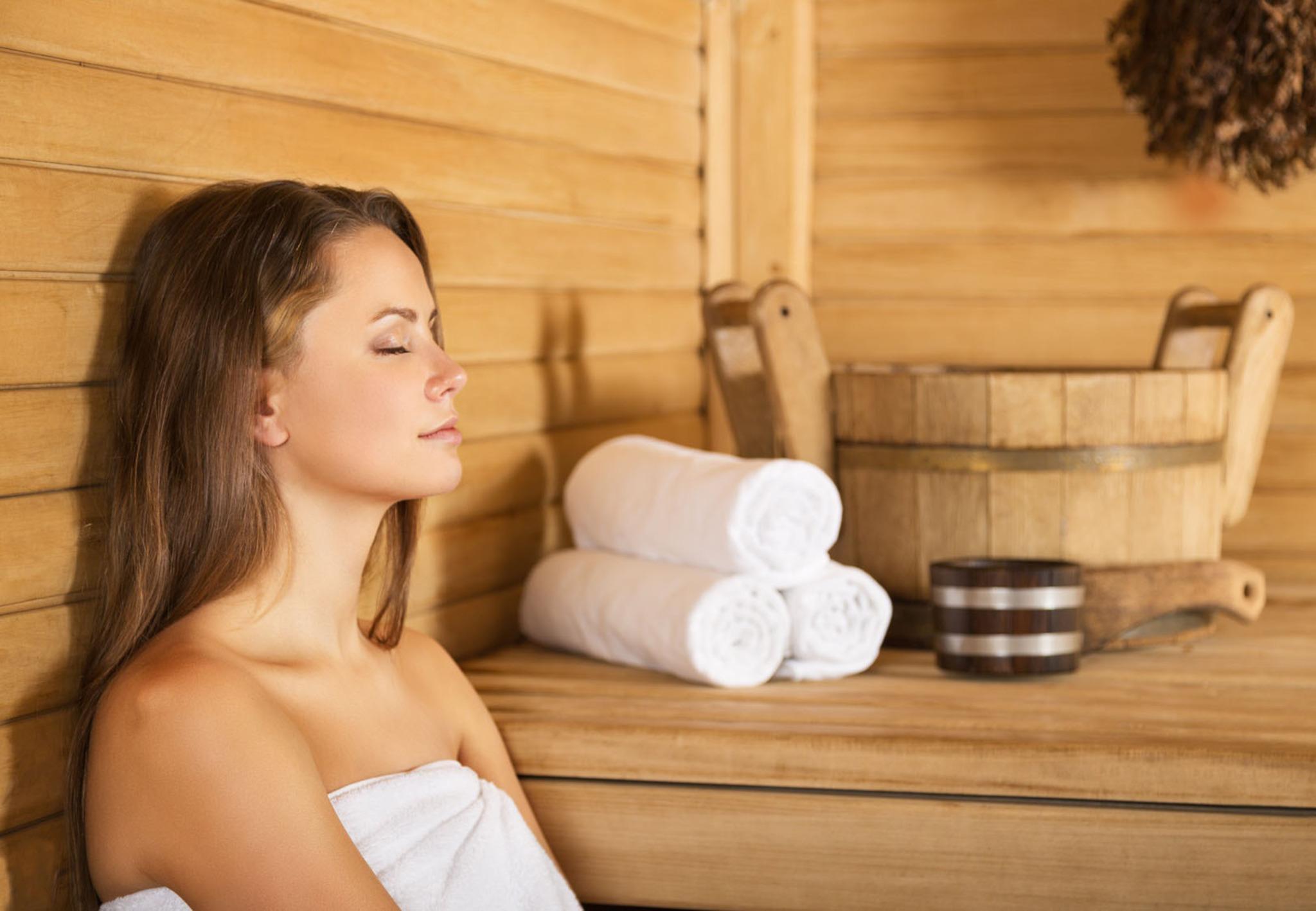 Saunabesuch stärkt die Abwehrkräfte