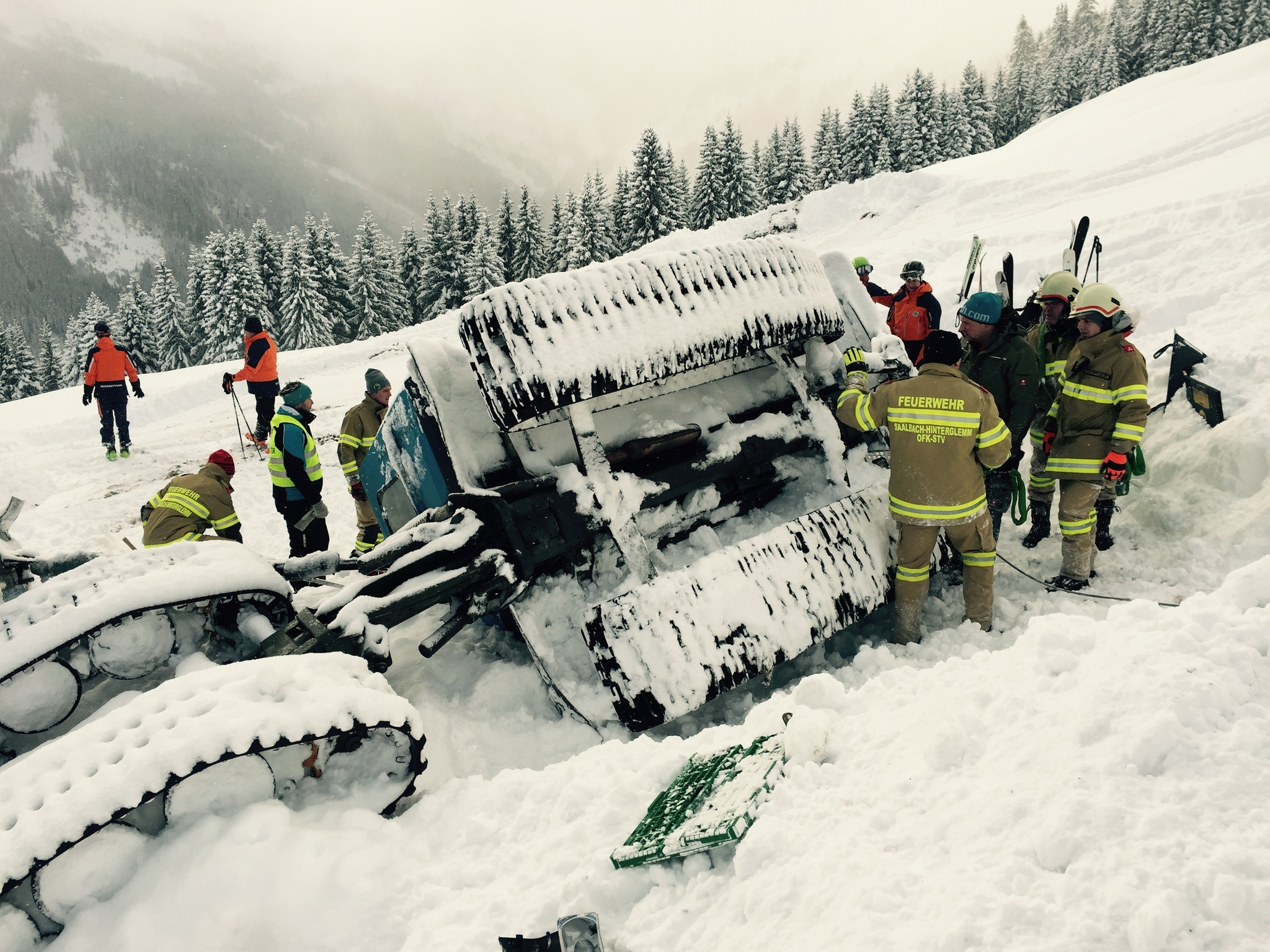 Saalbach Unfall