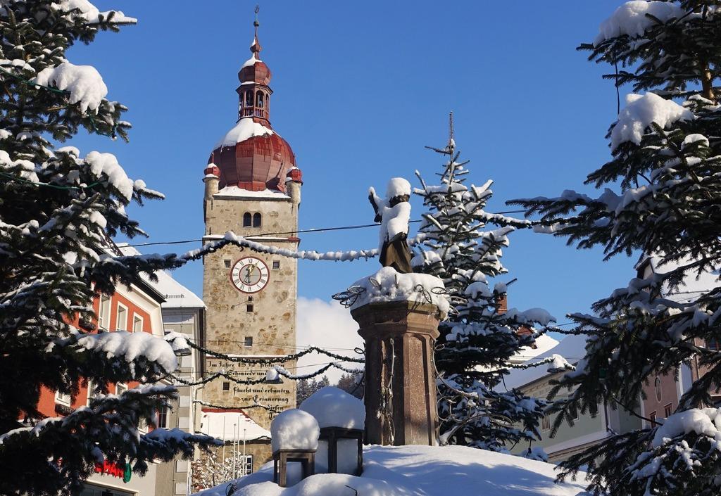 Ein Bilderbuch Vom Winter In Waidhofen Waidhofenybbstal