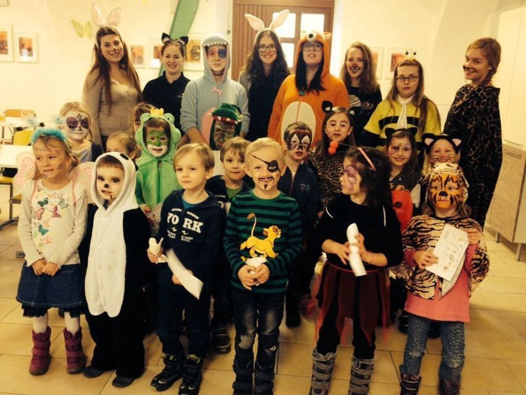 Die Wilden Tiere Waren Los Fasching Im Kindergarten Walding Rohrbach