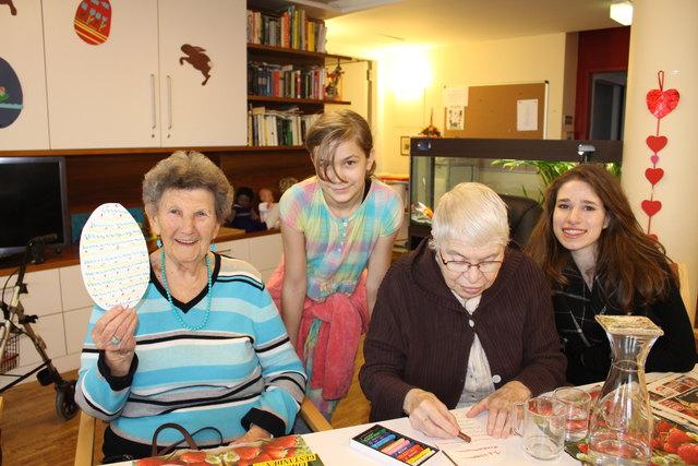 Senioren in Simmering - Thema auf huggology.com