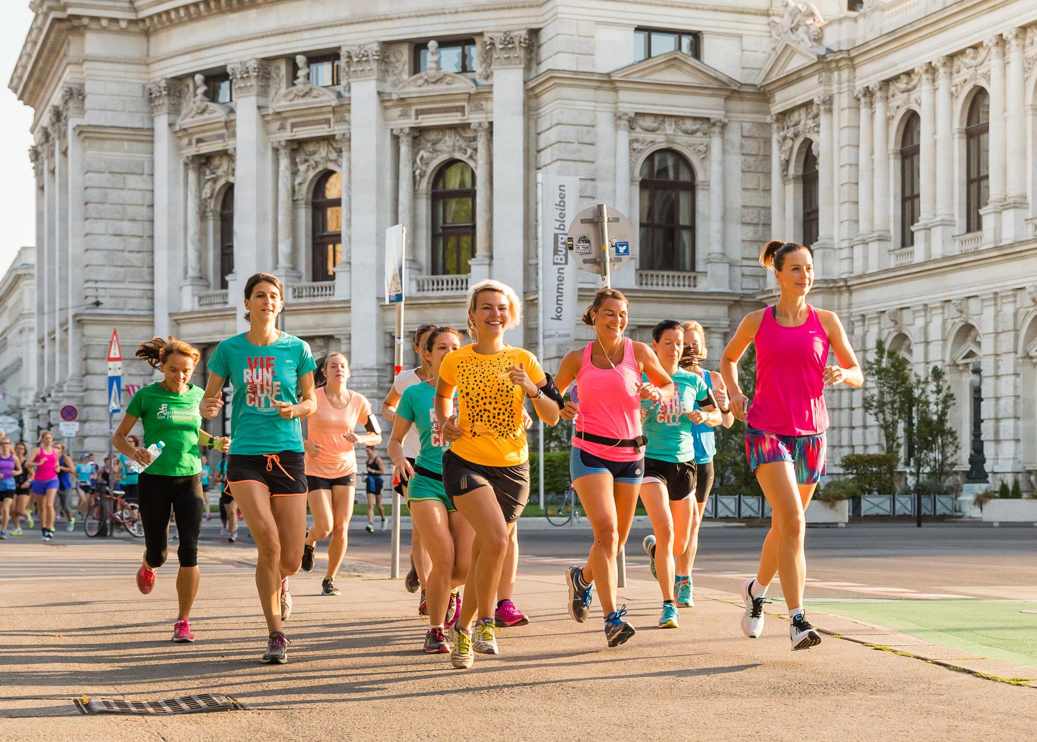Frauenlauf treffen wien