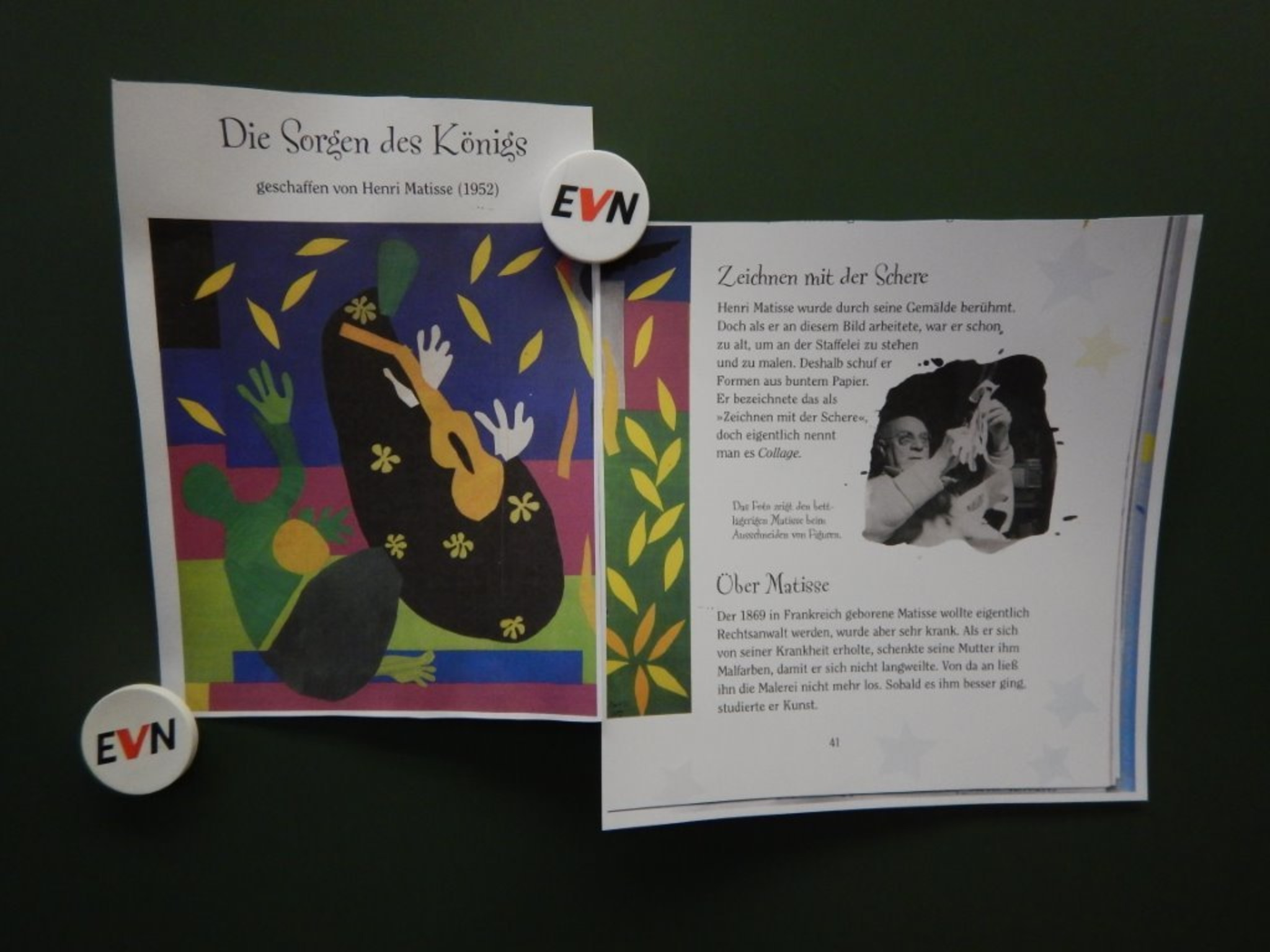 Zeichnen Mit Der Schere Die Sorgen Des Konigs Henri Matisse Horn