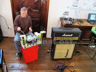 Musiker Erich Rechberger ist zwischen analogen und digitalen Momenten zuhause