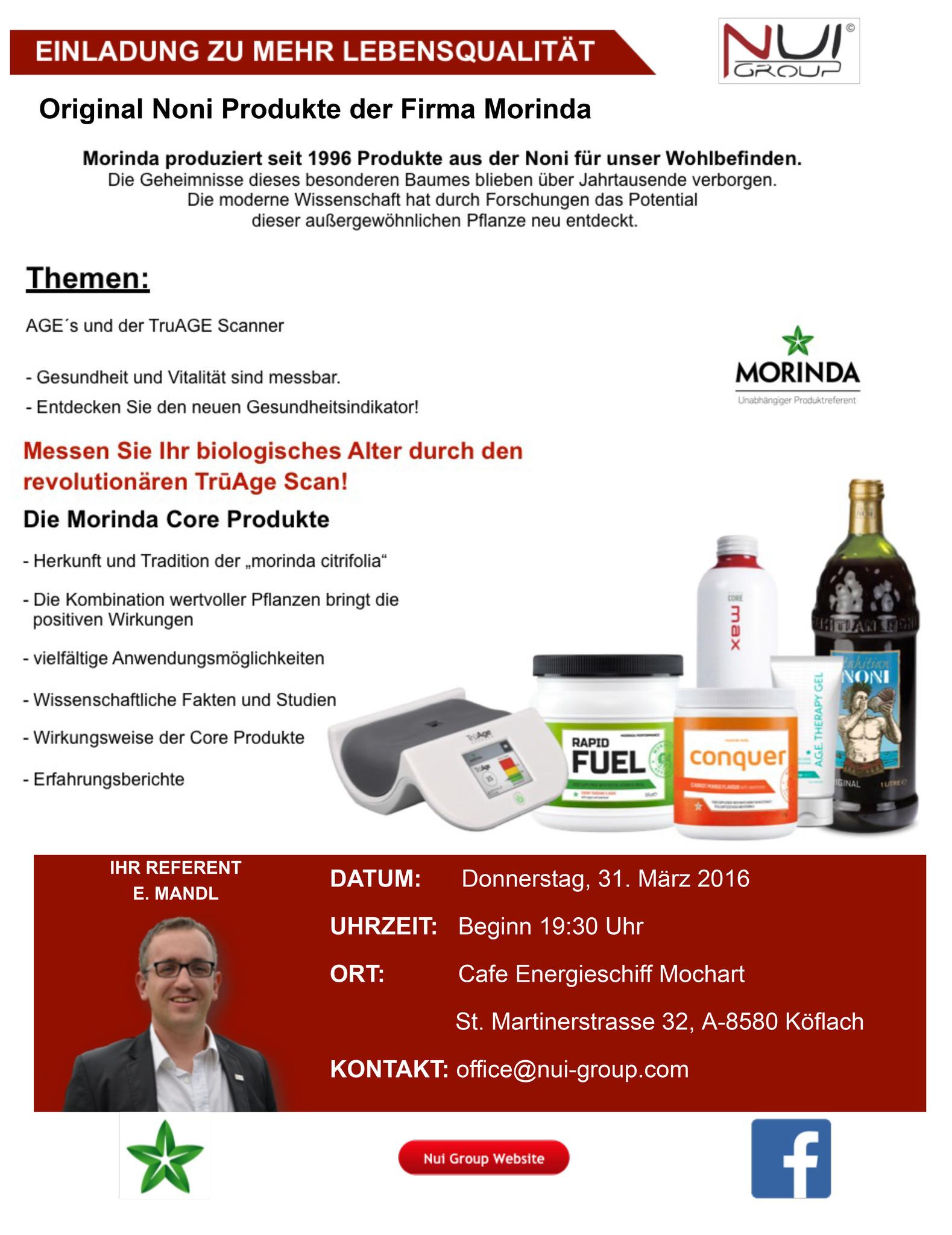 Vortrag Mehr Lebensqualitt Voitsberg Truage Gel