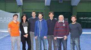 Der neue Vorstand des TC Bad Ischl (vl): Philipp Gratzer, Claudia Burgstaller, Stefan Sifkovits, Peter Rutzendorfer, Roland Lechner, Alois Sagmeister (Beirat), Alex Bucewicz.