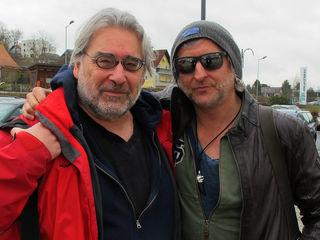Martin Krusche (links) und Sir Oliver Mally: Die Praxis des Kontrastes