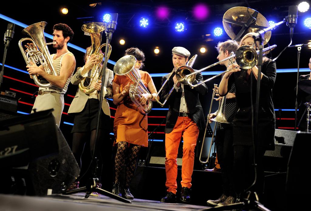 """Festival mit """"Les Lapins Superstars"""" aus Frankreich"""