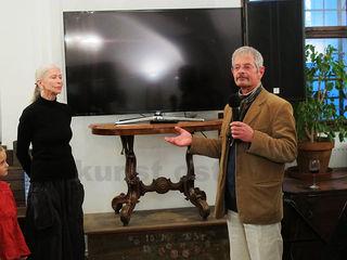 Ingeborg Hiel und Chris Scheuer