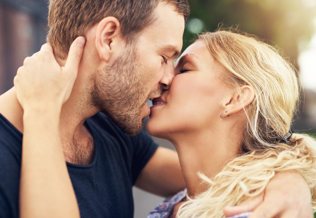 beim küssen