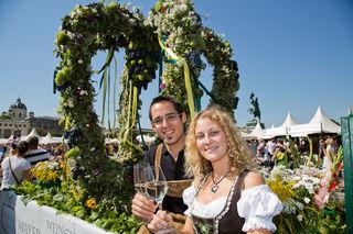 Am 10. und 11. September werden bis zu 300.000 Besucher beim Erntedankfest im Augarten erwartet.
