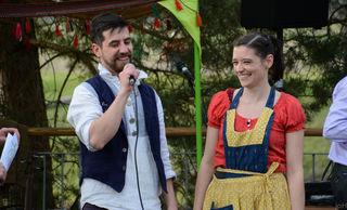 """Tobias und Emily Scheuer-Penny für das """"StandGut"""" in Großsteinbach."""