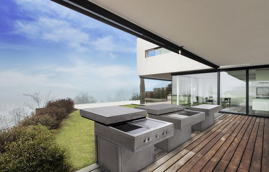 Outdoorküche Möbel Wien : Draußen kochen mit möbeln von concreto urfahr umgebung