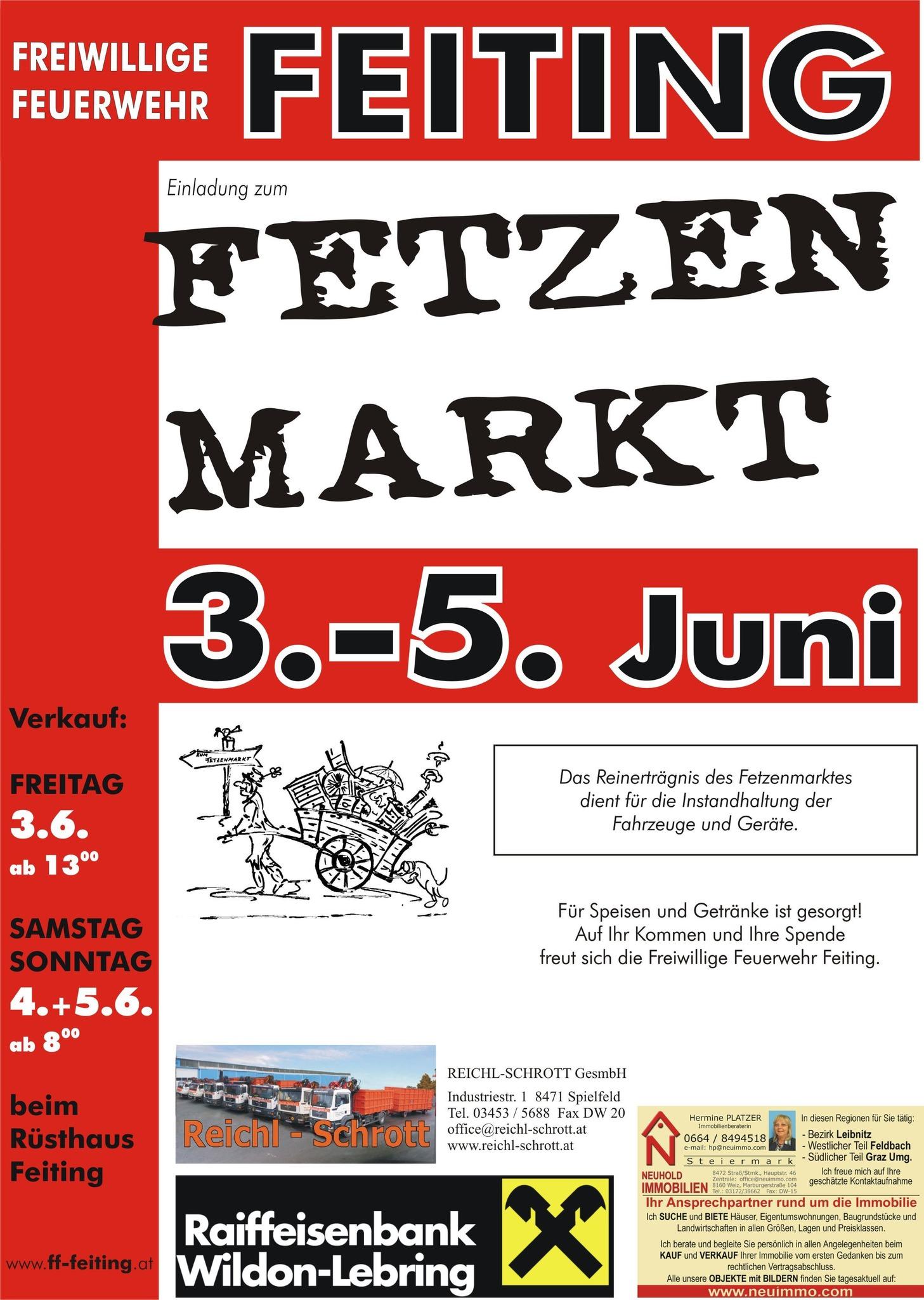 Fetzenmarkt in Feiting - Leibnitz