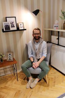 Georg Preiner weiß, was Frauen wünschen: Viel Platz und schönes Ambiente auch in der (riesigen) Umkleidekabine