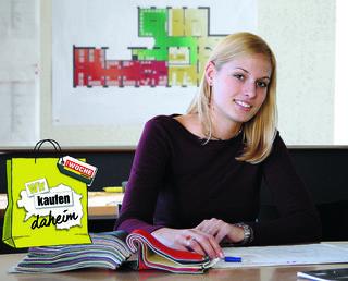 Als Einrichtungsberaterin erfolgreich – der steirische Handel macht's möglich.