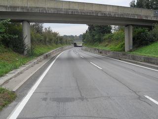 Die B 66 wird auf der Umfahrung Feldbach abschnittsweise saniert.