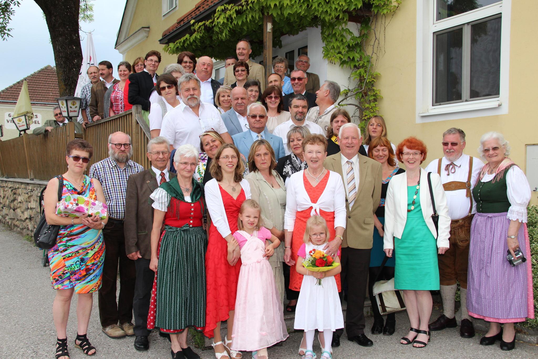 Goldene Hochzeit Von Walter Und Herta Liebenauer Zwettl