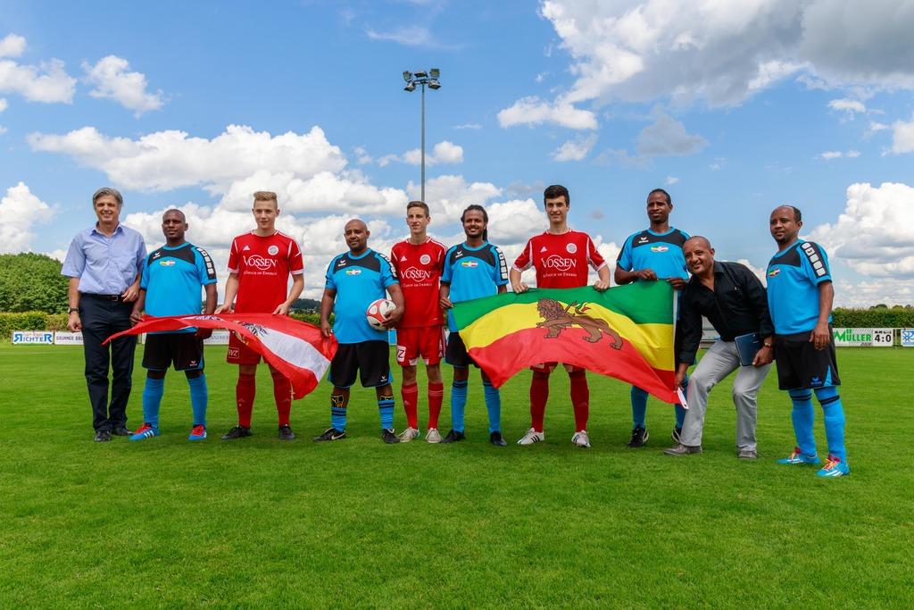 Fussball Verbindet Jennersdorf Und Athiopien Jennersdorf