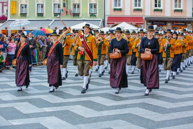 Die Trachtenmusikkapelle Oberwang erreichte die Höchstpunktezahl in der Leistungsstufe E.