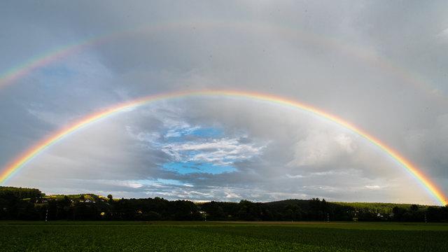 Regenbogenbild