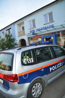 Die Volksbank wurde von einem jungen Mönchhofer überfallen.