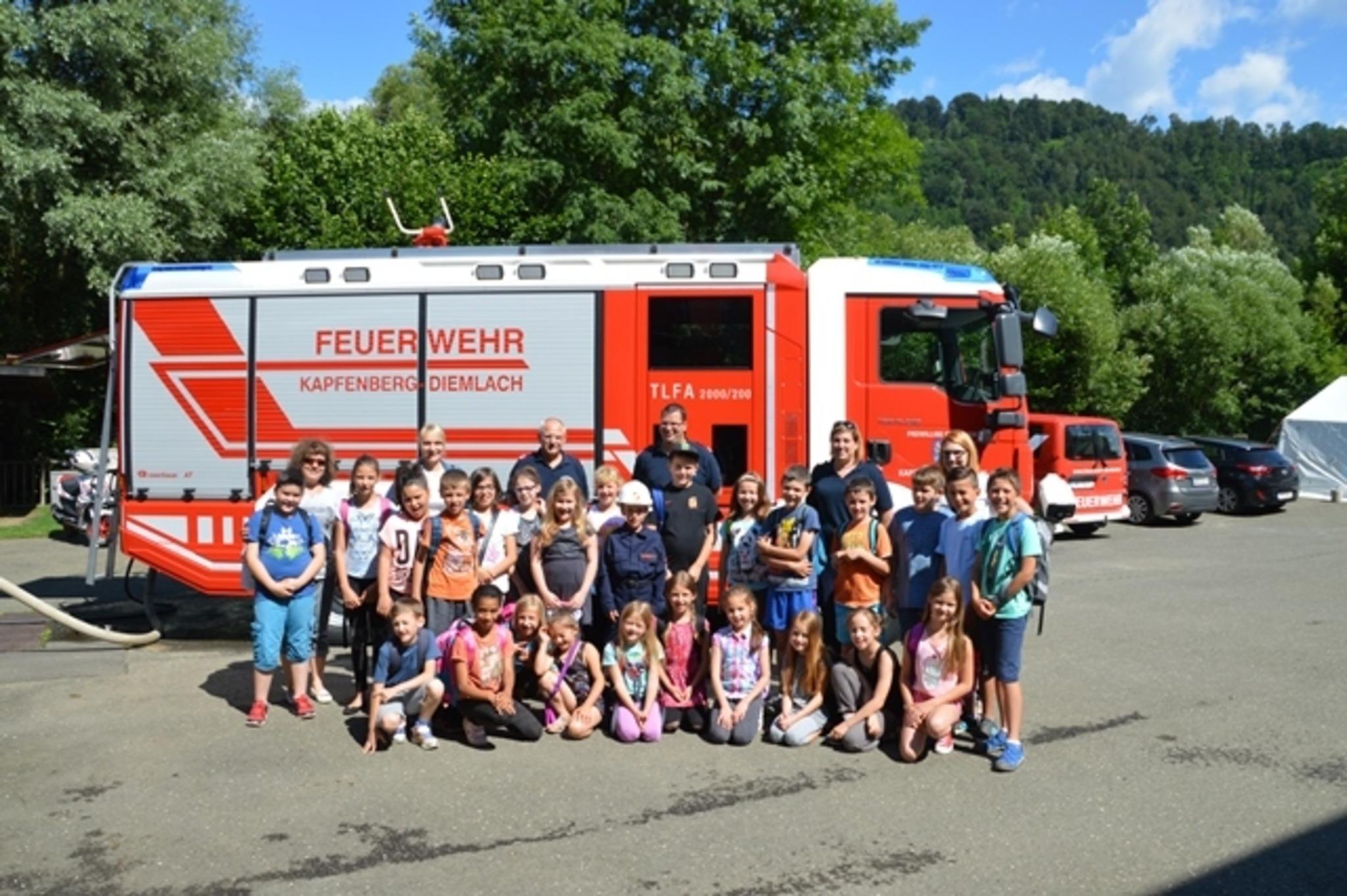 Unterricht Bei Der Freiwilligen Feuerwehr Kapfenberg Diemlach
