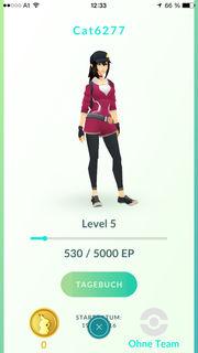 Pokemon Go. Bis Level 5 habe ich es dank meiner Tochter geschafft. Dann war Schluss. Die Begeisterung für das Spiel wollte sich bei mir einfach nicht einstellen.
