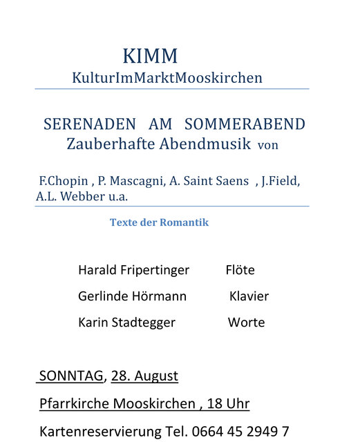 Konzeption - Mooskirchen