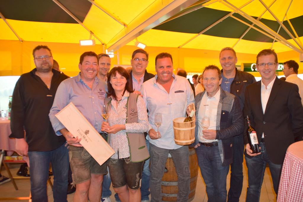 Weinverkostung im Kölner Haus - Landeck