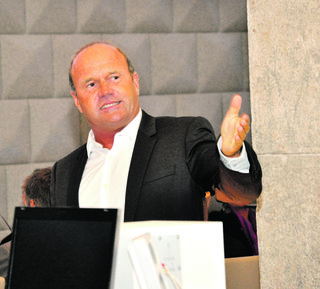 Werner Pürmayer, wie man ihn kannte: Ein guter Redner, ein Vordenker im Tourismus und ein Mann der Taten.