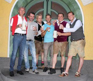 """Die ARGE Wirtegemeinschaft Bischofshofen lud mit """"Mia gfrein uns auf eich"""" zum InStadtfest."""