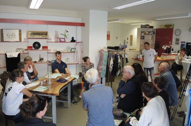 Diskussion bringt weiter: Gemeinsam kann man Bedingungen schaffen, die sich positiv auf die Stadtentwicklung auswirken