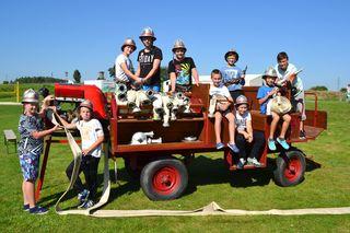 Feuerwehrjugend FF Stoitzendorf - die größte Gruppe am Zeltlager