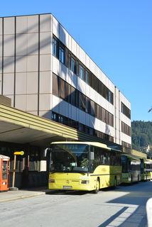 Das nördliche Bahnhofsgebäude in Kufstein wird ab 19. September endgültig abgerissen.