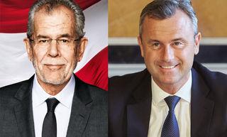 Wer wird in die Hofburg einziehen? Van der Bellen oder Hofer? Voten Sie mit.