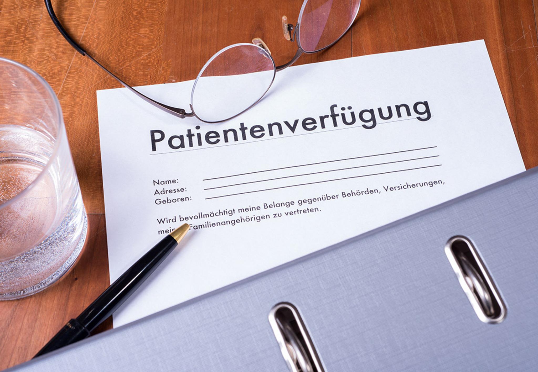 Patientenverfügung Notar
