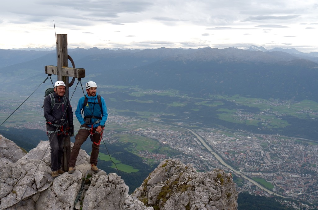 Klettersteig Innsbruck Umgebung : Schon seit 30 jahren: innsbrucker klettersteig innsbruck