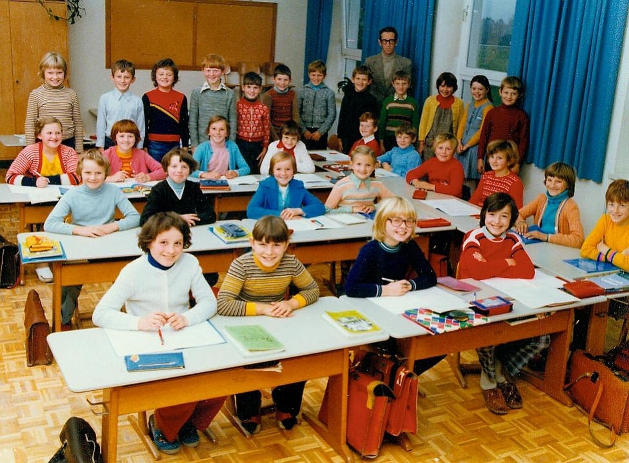 Alte Klassenfotos