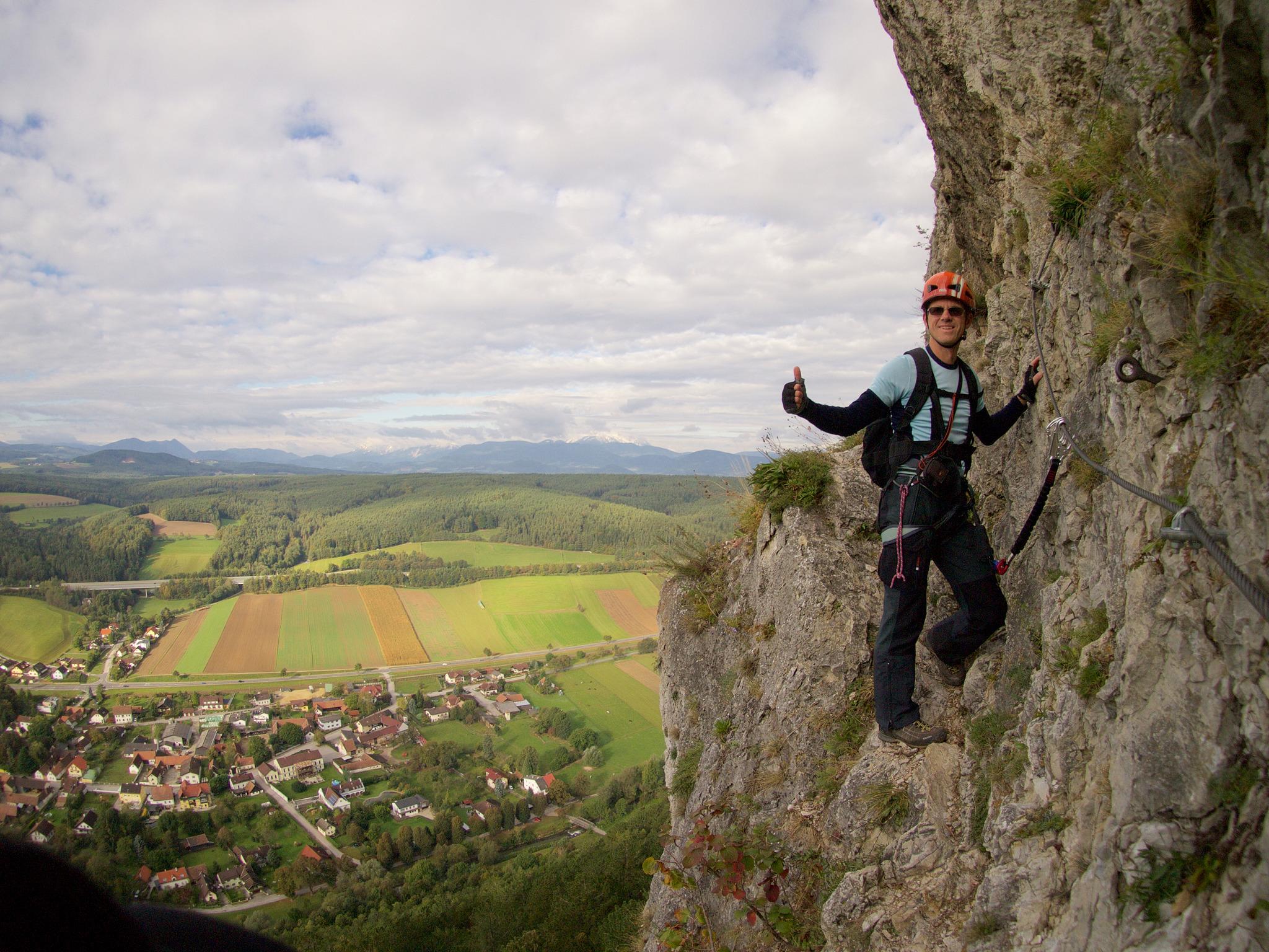 Klettersteig Türkensturz : Naturpark seebenstein türkensturz klettersteige wandern