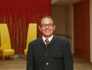 Der neue General Manager des SPA Resort Therme Geinberg, Hans Dieter Bergmann