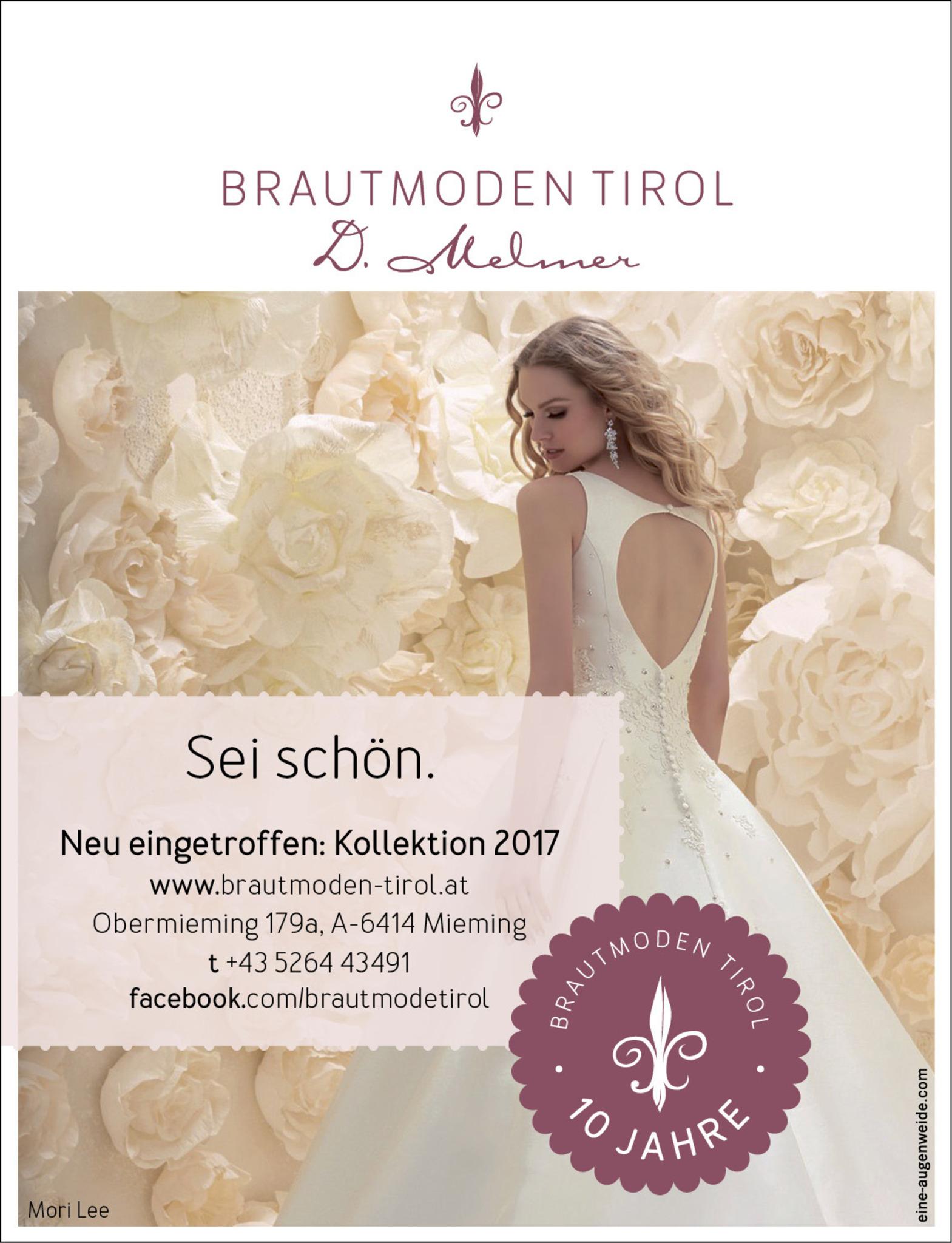 Brautmoden Tirol Dagmar Melmer Imst