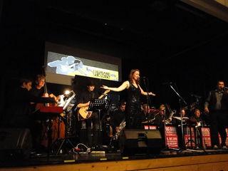 Die Big Band Kulmniation auf der Bühne der Oststeirerhalle begeisterte das Publikum.