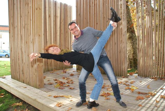 Sabine Zechner und Markus Unterguggenberger freuen sich schon auf das Tanzfestival