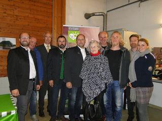 v.l.: Gerwald Hierzi, Bernhard Muchitsch, Johannes Haas, Michael Neuhold, Josef Wumbauer, Irmgard Eixelberger, Josef Zotter, Christian Strassegger, Karl Bauer, Bettina Fasching