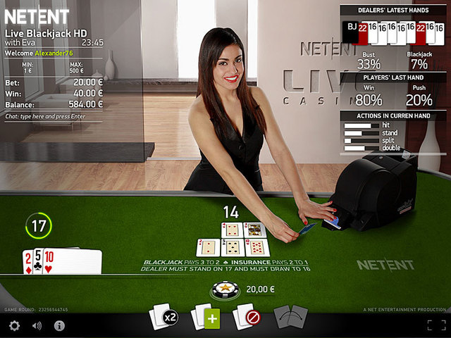 Live Casino Test