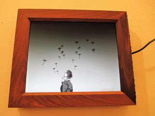 """Dieses Animierte Standbild """"where are all the flowers gone"""" von Egon Griessmann erntet große Bewunderung."""