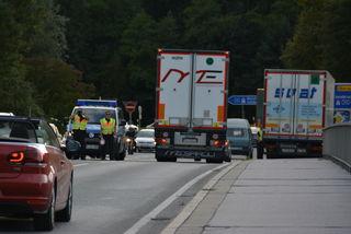 Nicht nur an den Straßen will die Deutsche Bundespolizei künftig stärker Gütertransporte überwachen. (Symbolfoto)