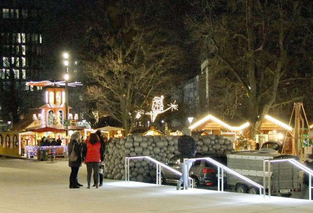 Der Weihnachtsmarkt Im Linzer Volkgarten Linz
