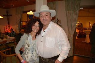 Zum seinem 60. Geburtstag im Vorjahr gratulierte ihm auch Mausi Lugner.